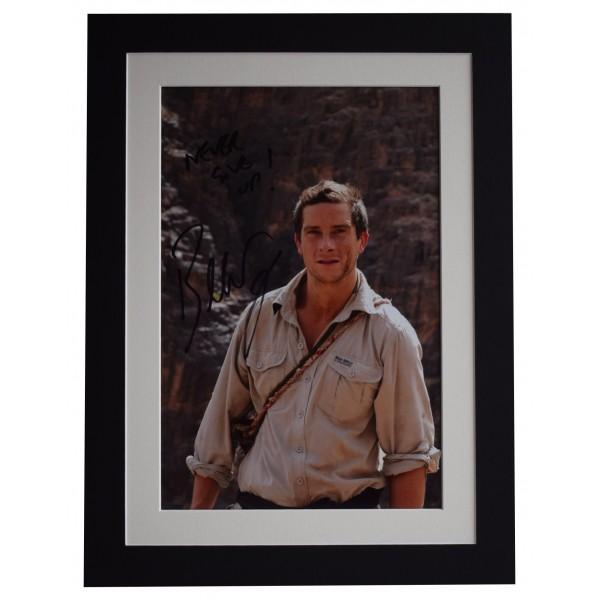 Bear Grylls Signed autograph 16x12 photo mount display SAS Man v Wild COA Perfect Gift Memorabilia