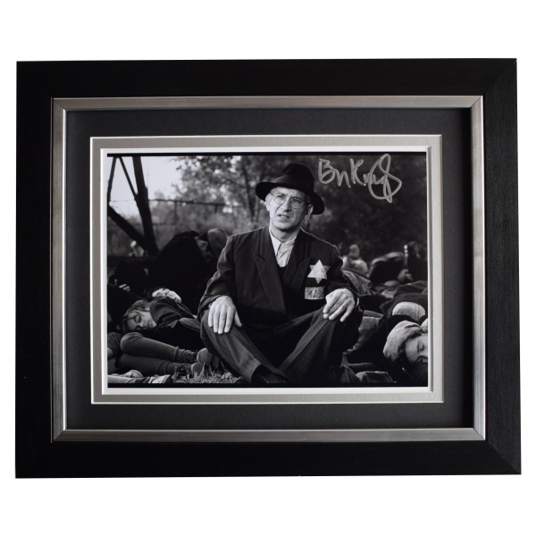 Ben Kingsley Signed 10x8 Framed Photo Autograph Display Schindlers List Film COA Perfect Gift Memorabilia