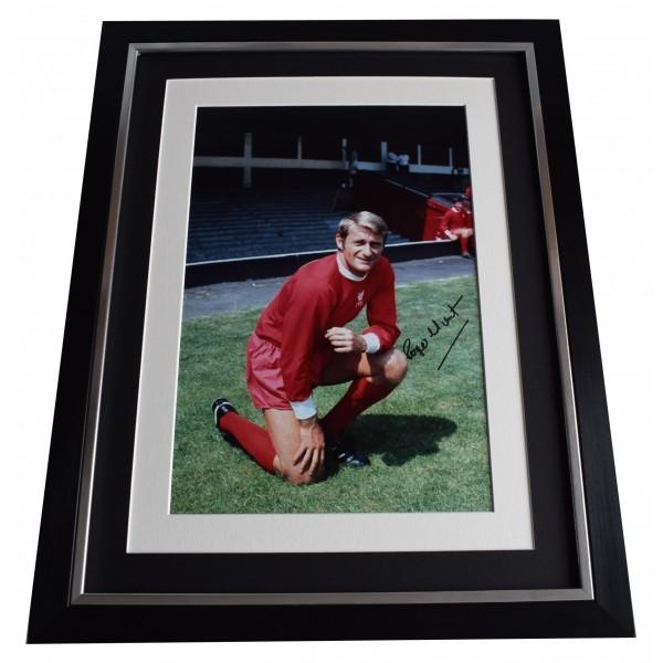 Roger Hunt Signed Framed Photo Autograph 16x12 display Liverpool Football COA Perfect Gift Memorabilia