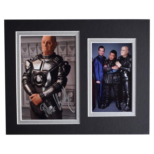 Robert Llewellyn Signed Autograph 10x8 photo display Red Dwarf AFTAL COA Perfect Gift Memorabilia