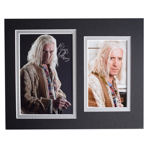 Rhys Ifans Signed Autograph 10x8 photo display Doctor Who TV AFTAL COA Perfect Gift Memorabilia