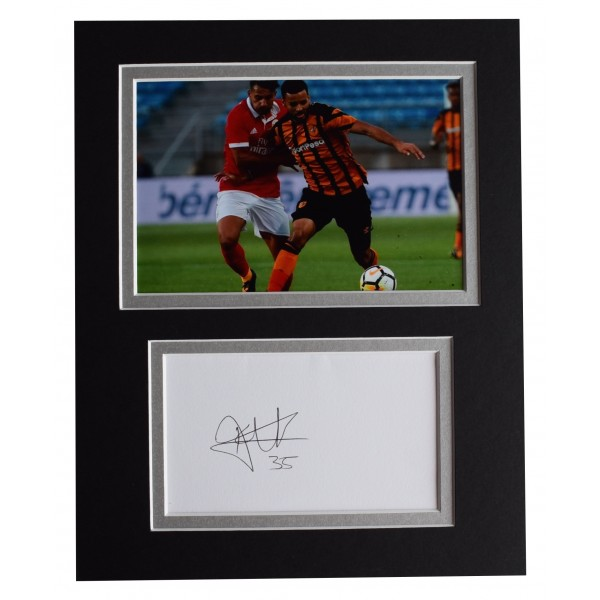 Kevin Stewart Signed Autograph 10x8 photo display Hull City Football COA Perfect Gift Memorabilia