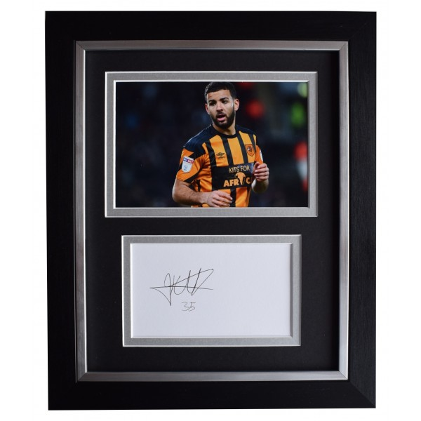 Kevin Stewart Signed 10x8 Framed Photo Autograph Display Hull City Football COA Perfect Gift Memorabilia