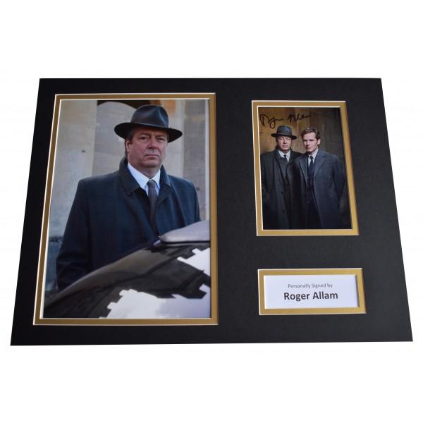 Roger Allam Signed autograph 16x12 photo display Endeavour TV AFTAL COA Perfect Gift Memorabilia