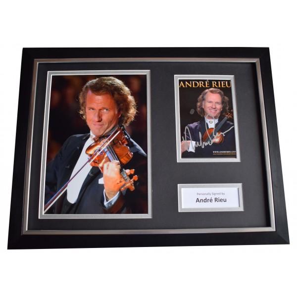 Andre Rieu Signed Framed Photo Autograph 16x12 display Violin Music COA Perfect Gift Memorabilia