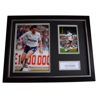 Chris Waddle Signed Framed Photo Autograph 16x12 display Tottenham Hotspurs COA  Perfect Gift Memorabilia