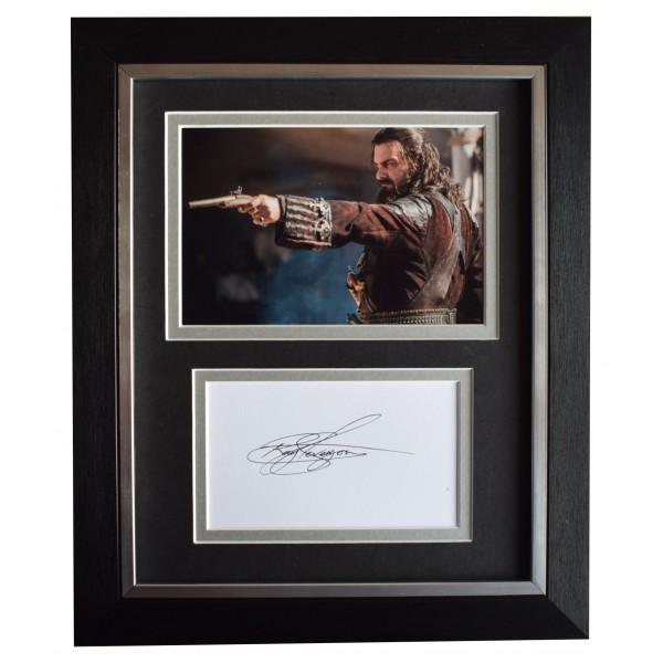 Ray Stevenson Signed 10x8 Framed Autograph Photo Display Black Sails Film COA Perfect Gift Memorabilia