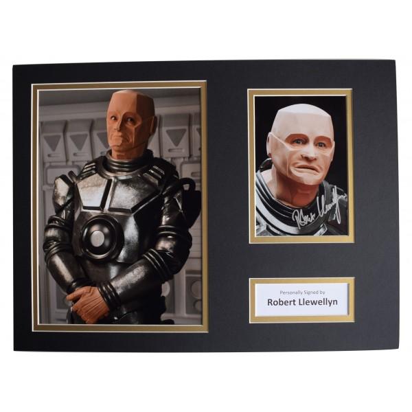 Robert Llewellyn SIGNED autograph 16x12 photo display Red Dwarf TV AFTAL COA Perfect Gift Memorabilia