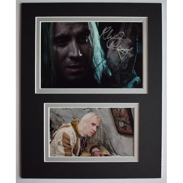 Rhys Ifans Signed Autograph 10x8 photo display Harry Potter TV AFTAL COA