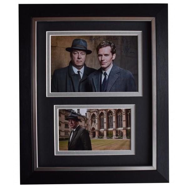 Roger Allam Signed 10x8 Framed Autograph Photo Display Endeavour TV AFTAL COA