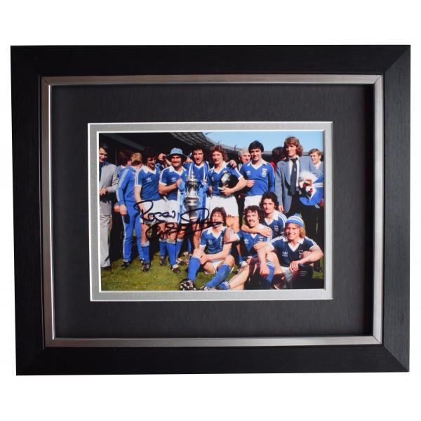 Roger Osborne Signed 10x8 Framed Autograph Photo Display Ipswich AFTAL COA