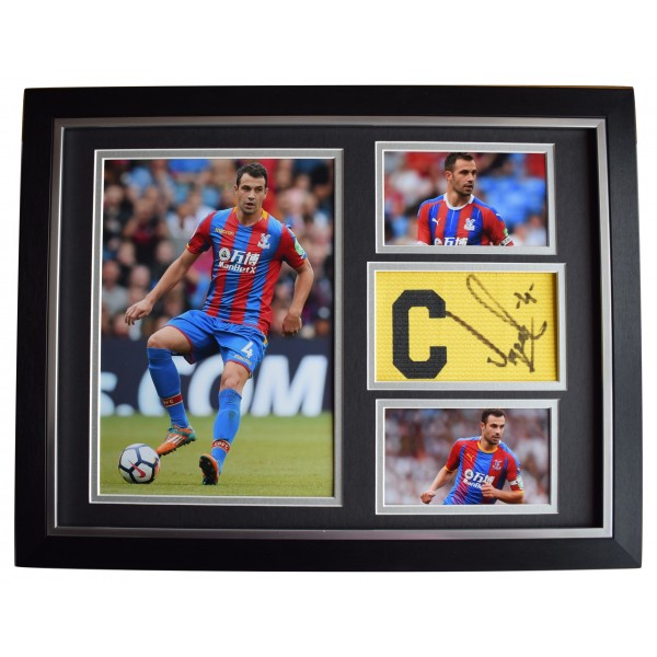 Luka Milivojević Signed Framed Armband Photo Autograph 16x12 Crystal Palace COA  Perfect Gift Memorabilia
