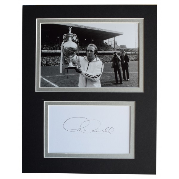 Archie Gemmill Signed Autograph 10x8 photo display Derby County AFTAL COA Perfect Gift Memorabilia