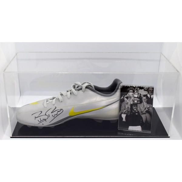 Sportagraphs LTD Billy Bonds Signed Captains Armband /& free mount display West Ham Utd AFTAL COA
