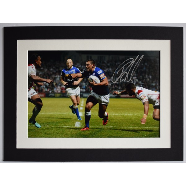 Ryan Hall Signed autograph 16x12 photo display Leeds Rhinos Rugby AFTAL COA Perfect Gift Memorabilia