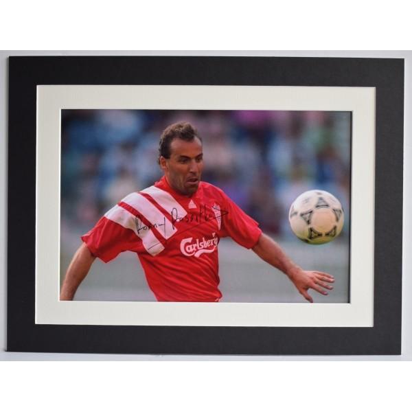 Ronny Rosenthal Signed autograph 16x12 photo display Liverpool Football COA Perfect Gift Memorabilia