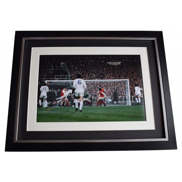 Allan Clarke Signed Autograph 16x12 framed photo display Leeds United AFTAL COA Perfect Gift Memorabilia