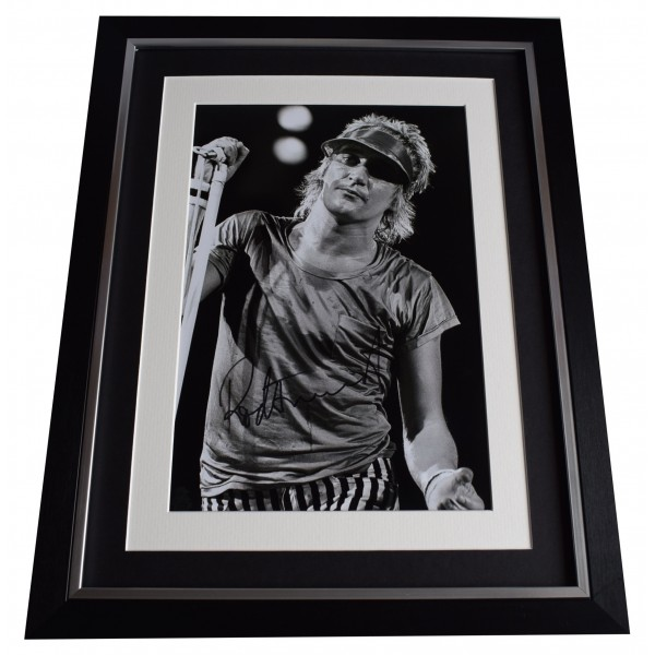 Rod Stewart Signed Autograph 16x12 framed photo display Faces Music AFTAL COA Perfect Gift Memorabilia