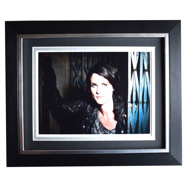 Heather Peace Signed 10x8 Framed Autograph Photo Display Music TV AFTAL COA Perfect Gift Memorabilia