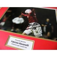 FABRIZIO RAVANELLI HAND SIGNED AUTOGRAPH 16x12 PHOTO MOUNT MIDDLESBROUGH & COA PERFECT GIFT