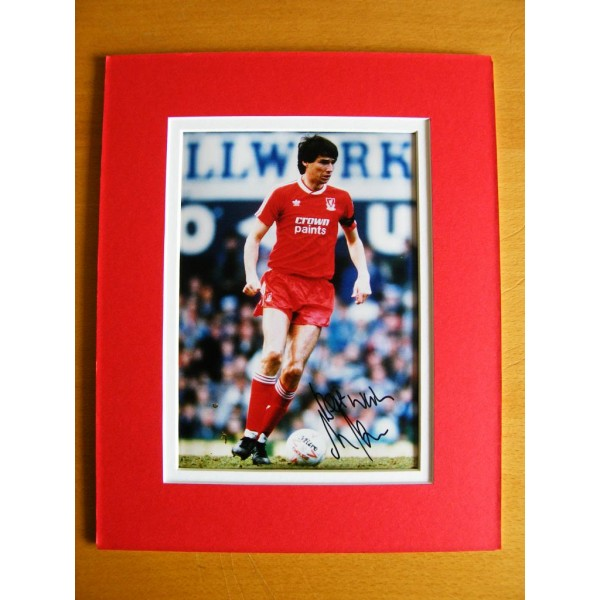 ALAN HANSEN GENUINE SIGNED AUTOGRAPH 10X8 PHOTO MOUNT LIVERPOOL LEGEND SPORT  AFTAL & COA Memorabilia