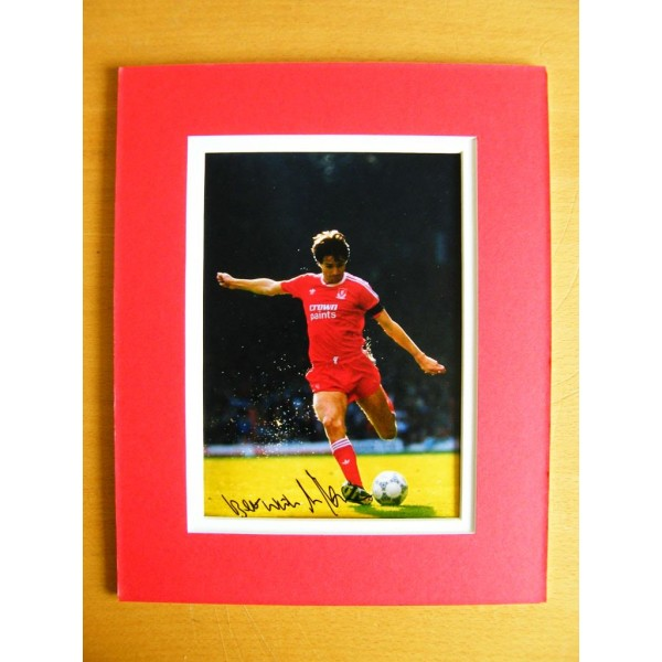 ALAN HANSEN SIGNED GENUINE AUTOGRAPH 10X8 PHOTO MOUNT LIVERPOOL SPORT LEGEND AFTAL & COA Memorabilia PERFECT GIFT