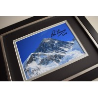 Ranulph Fiennes SIGNED 10X8 FRAMED Photo Autograph Display AFTAL & COA Memorabilia PERFECT GIFT