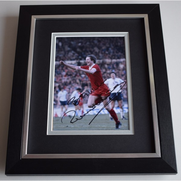 Ronnie Whelan SIGNED 10X8 FRAMED Photo Autograph Display Liverpool Football   AFTAL & COA Memorabilia PERFECT GIFT