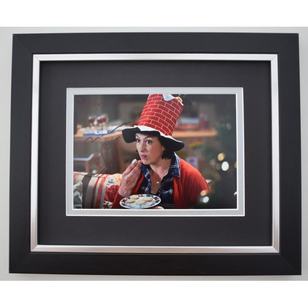 Miranda Hart SIGNED 10X8 FRAMED Photo Autograph Display TV Comedy  Memorabilia  AFTAL & COA perfect gift