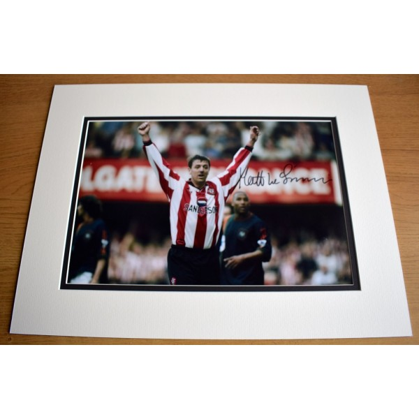 Matt le Tissier SIGNED autograph 16x12 LARGE photo display Southampton  AFTAL & COA Memorabilia PERFECT GIFT