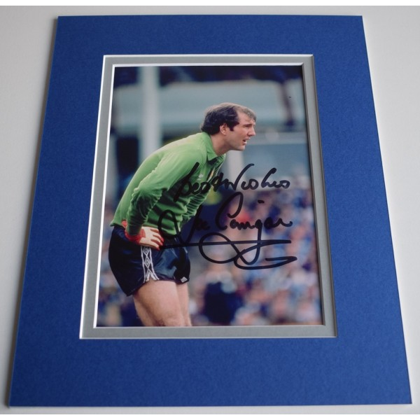 Joe Corrigan Signed Autograph 10x8 photo mount display Manchester City AFTAL & COA Memorabilia PERFECT GIFT