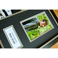 BEAR GRYLLS Signed FRAMED Photo Autograph 16x12 Display ESCAPE FROM HELL TV COA   PERFECT GIFT