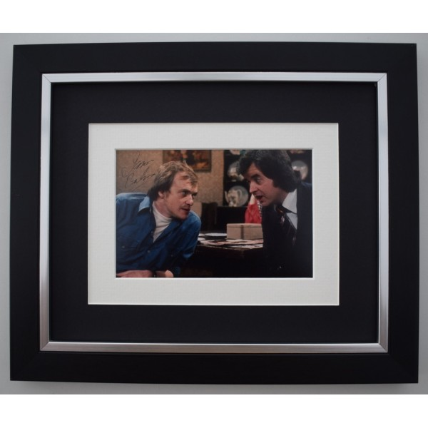 James Bolam SIGNED 10X8 FRAMED Photo Autograph Display Likely Lads TV  Memorabilia  AFTAL & COA perfect gift