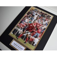 Fabrizio Ravanelli SIGNED autograph 16x12 photo display Middlesbrough  Memorabilia  AFTAL & COA perfect gift