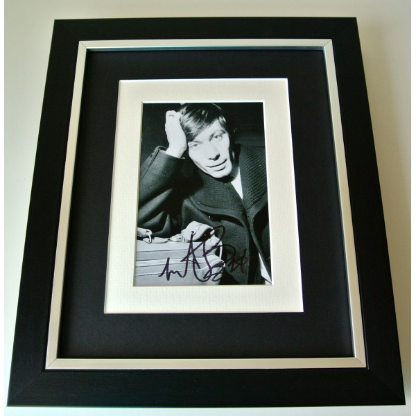 Charlie Watts SIGNED 10X8 FRAMED Photo Autograph Display Rolling Stones & COA Perfect Gift