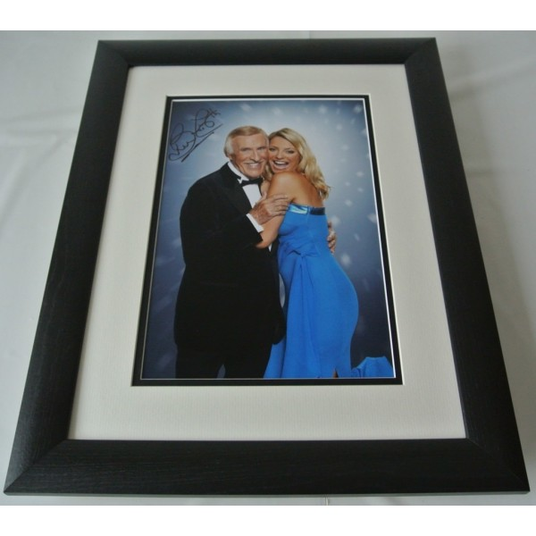 Bruce Forsyth SIGNED FRAMED Photo Autograph 16x12 LARGE display Strictly & COA AFTAL TV Memorabilia PERFECT GIFT