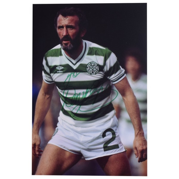 Danny McGrain SIGNED 12x8 Photo Autograph Celtic Football  AFTAL  COA Memorabilia PERFECT GIFT