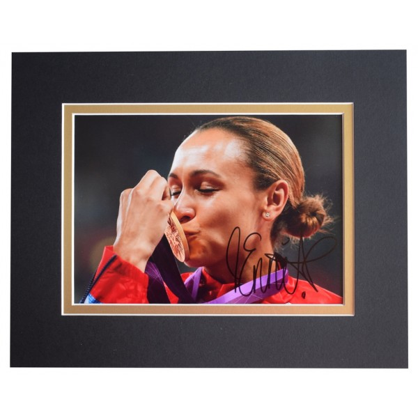 Jessica Ennis Signed Autograph 10x8 photo display Athletics Sport AFTAL  COA Memorabilia PERFECT GIFT