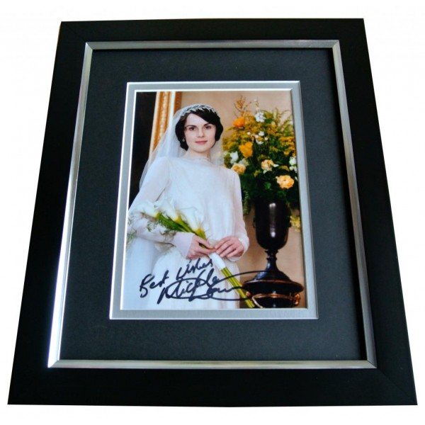 MICHELLE DOCKERY SIGNED 10x8 FRAMED Photo Autograph Display DOWNTON ABBEY & COA PERFECT GIFT