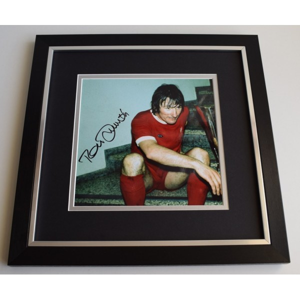 Tommy Smith SIGNED Framed LARGE Square Photo Autograph display Liverpool Memorabilia  AFTAL & COA perfect gift