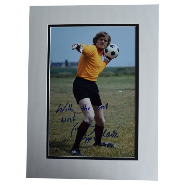 Sepp Maier SIGNED autograph 16x12 photo display Germany Football  AFTAL  COA Memorabilia PERFECT GIFT