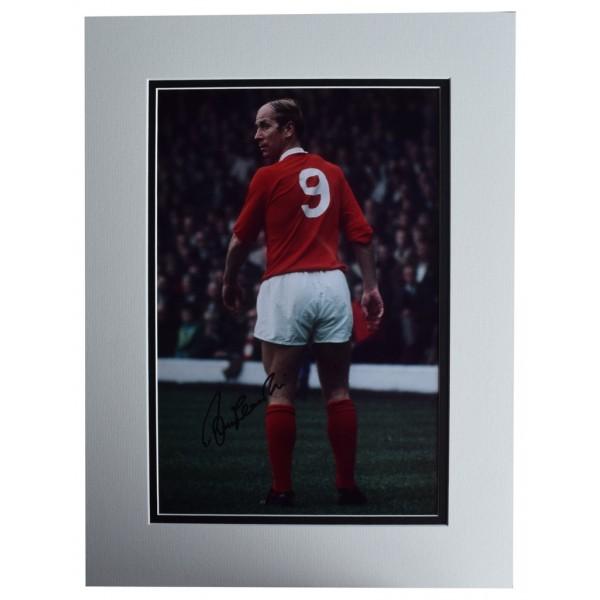 Bobby Charlton SIGNED autograph 16x12 photo display Manchester United AFTAL  COA Memorabilia PERFECT GIFT