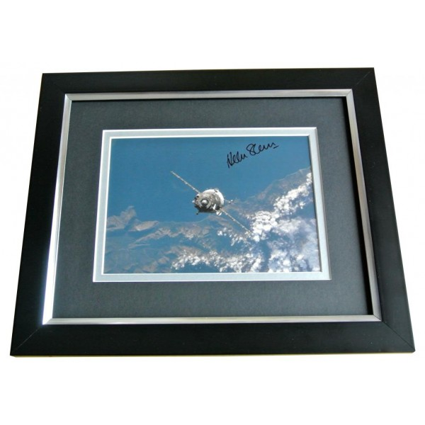 HELEN SHARMAN SIGNED 10x8 FRAMED Photo Autograph Display MIR SPACE STATION COA PERFECT GIFT