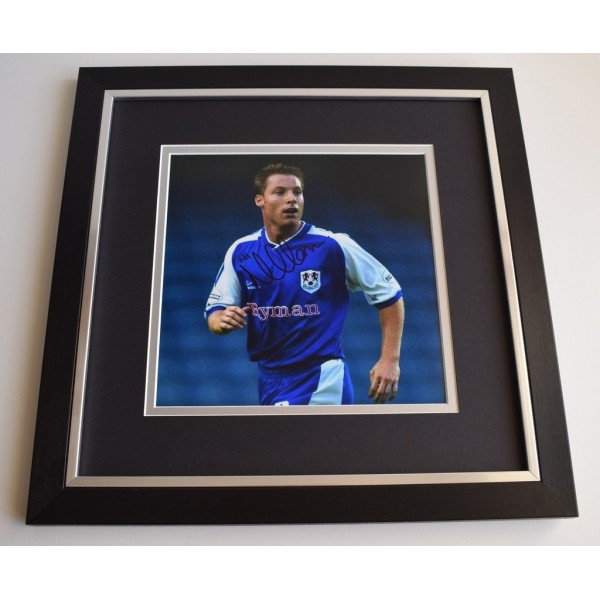 Neil Harris SIGNED Framed LARGE Square Photo Autograph display Millwall Football  Memorabilia  AFTAL & COA perfect gift