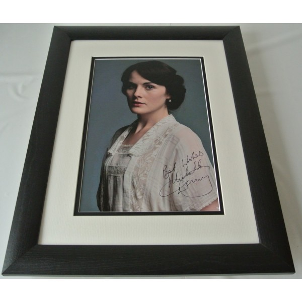 Michelle Dockery SIGNED FRAMED Photo Autograph 16x12 display Downton Abbey &COA AFTAL TV  Memorabilia PERFECT GIFT