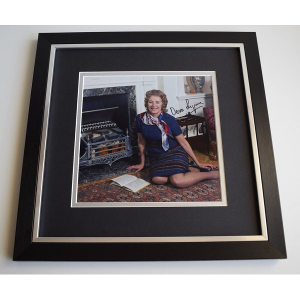 Vera Lynn SIGNED Framed LARGE Square Photo Autograph display Music      Memorabilia  AFTAL & COA perfect gift