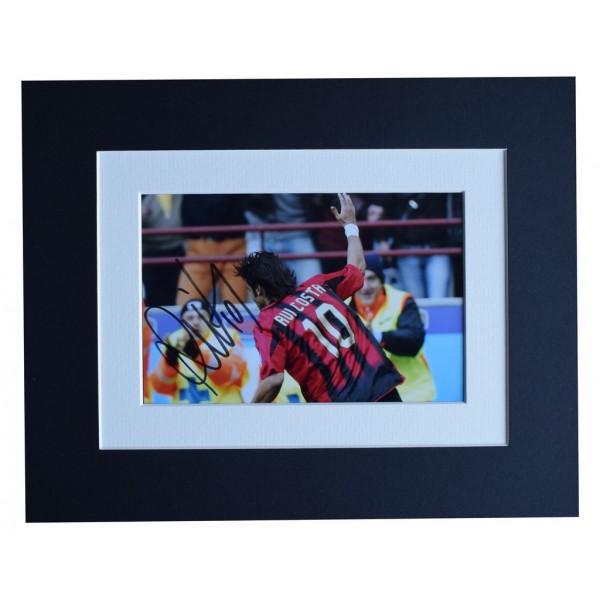 Rui Costa Signed Autograph 10x8 photo display A.C. Milan Football  AFTAL  COA Memorabilia PERFECT GIFT