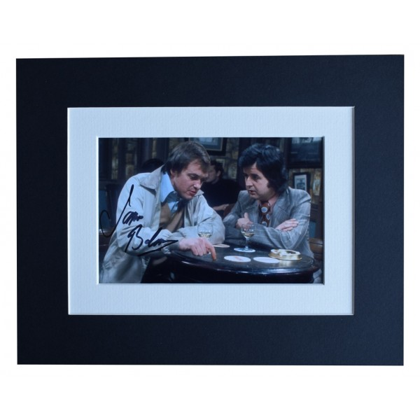 James Bolam Signed Autograph 10x8 photo display Likely Lads TV AFTAL  COA Memorabilia PERFECT GIFT