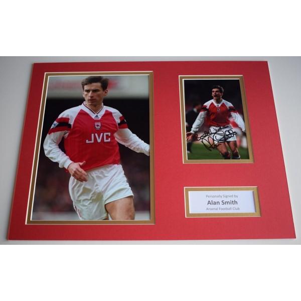 Alan Smith SIGNED autograph 16x12 photo display Arsenal Football  Memorabilia  AFTAL & COA perfect gift