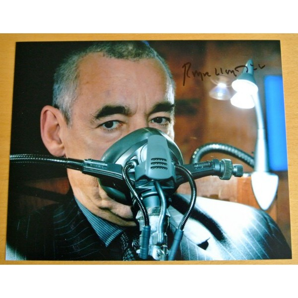 ROGER LLOYD PACK GENUINE HAND SIGNED AUTOGRAPH 10X8 PHOTO DOCTOR DR WHO & COA